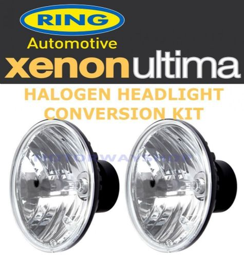 "Ring Xenon Ultima Halogen Headlight Conversion For 7"" Sealed Beam Headlamp RTM81"